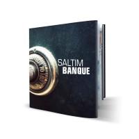 Livre rigide + jaquette 21x21 cm