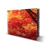 Livre rigide avec couverture rembordé 21x29,7 paysage (A4)