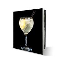 Livre rigide, cahier cousu, avec couverture imprimée 20x26 cm portrait - 60 pages